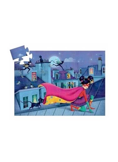 Djeco Djeco Dekoratif Puzzle 36 Parça/Süper Star Pembe